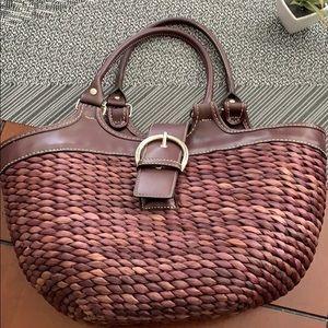Wicker Style Hand Bag